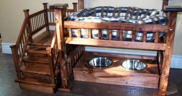 Dog bunk bed with food amanda we need to become for Pet bunk bed gallery