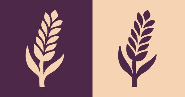 Wheat Icon Icon Set Design Custom Icons Wheat Design