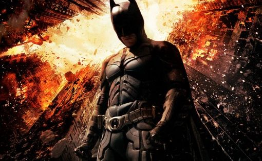 The Dark Knight Rises. Not as good as the Dark Night but