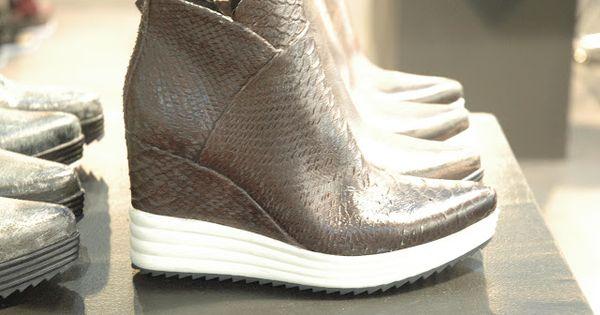 Schuhtrends Fur Herbst Winter 2016 Verfilzt Und Zugenaht Wedge Sneaker Sneakers Fashion