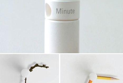 Choose your own clock hands. DIY clock.