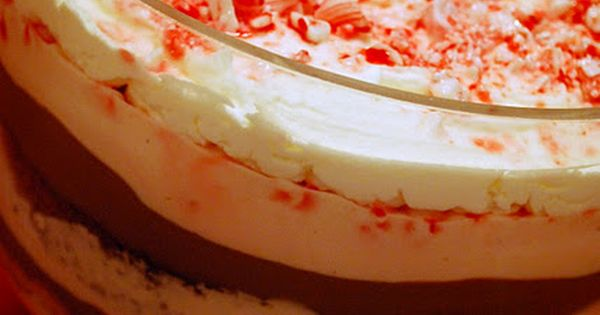 Triple chocolate peppermint trifle! | Red & White Christmas ...