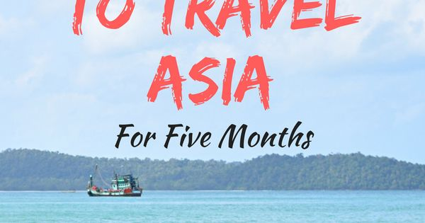 traveling asia months