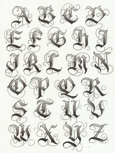 Letras Para Tatuajes De Nombres Cuerpo Y Arte Letras Para Tatuajes Imagenes De Letras Goticas Disenos De Letras