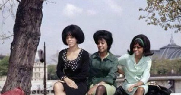 The Supremes Florence Mary Diana Paris 1965 The