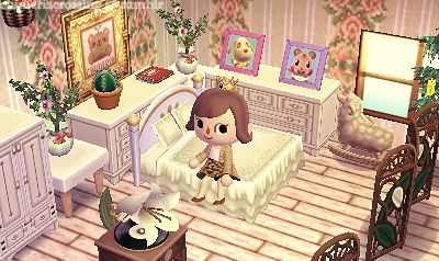 This room is so beautiful, it almost doesn't look real ... on Animal Crossing New Horizons Living Room Designs  id=13765