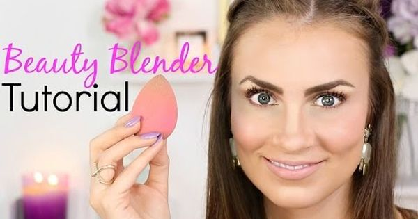 beauty blender tutorial how to use to create a flawless face full face makeup routine. Black Bedroom Furniture Sets. Home Design Ideas