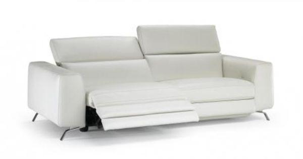 Leather Sofa Power Motion Natuzzi Bergamo 20jg Furnitalia Modern Recliner Sofa Leather Sofa Hamilton Sofa