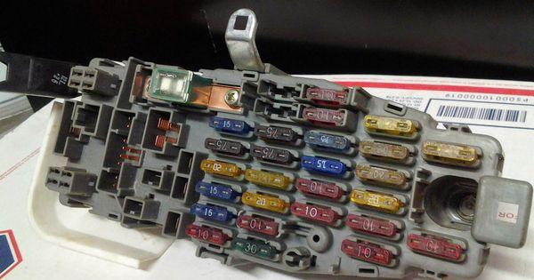 90 93 Integra Rs Ls Gs Gs R Interior Fuse Box Block Panel And Control Unit Acura Fuse Box Control Unit Paneling