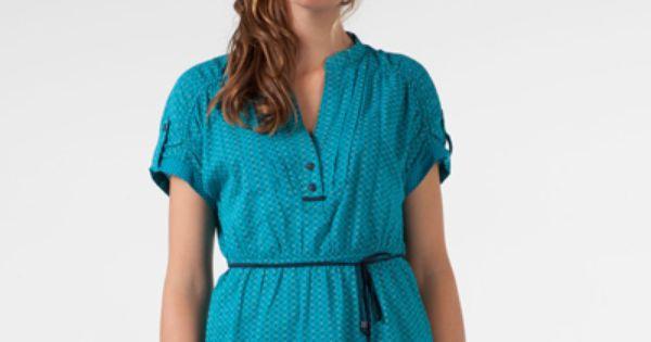 فقط لعشاق درجات اللون الأزرق Fashion Dresses Shirt Dress