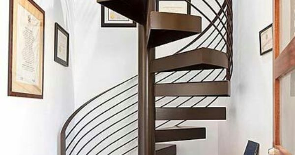 Lineas puras para esta escalera de caracol home decor - Escalera caracol usada ...