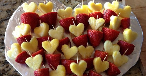 Valentine S Day Fruit Tray Ideas Google Search