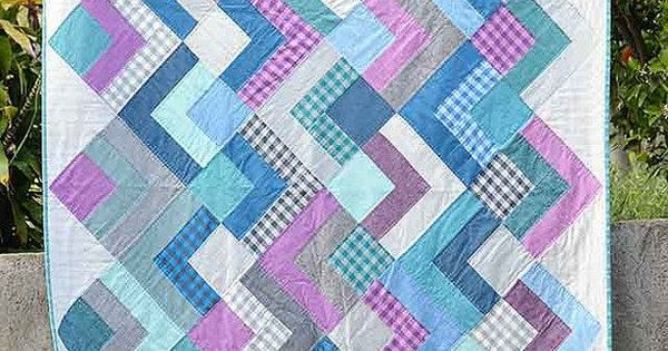 Dapper squares quilt kitchen table quilting quilt for Kitchen quilting ideas