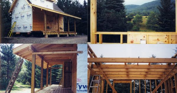 16x24 cabin note loft stairs cottage plans pinterest for 16x24 house