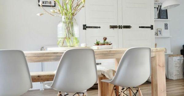 Parkettboden in der k che dining and living pinterest - Essecke paderborn ...