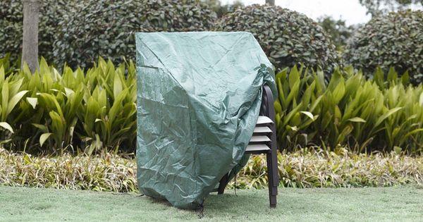 New Green Yard Schutzh lle f r Stapelst hle ca x x cm Jetzt bestellen unter https moebel ladendirekt de garten gartenmoebel schutzhue u