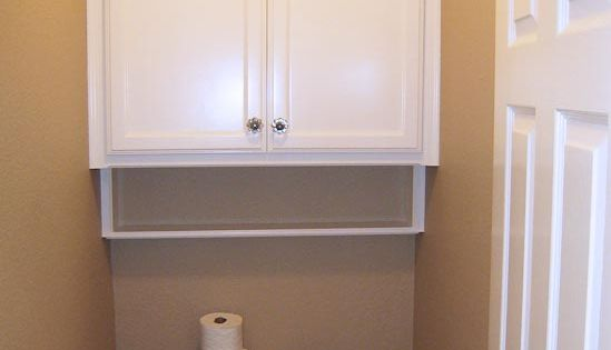Bathroom cabinets over toilet storage fits nicely for Bathroom cabinets over toilet walmart