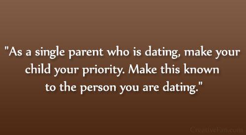 single mom dating man with no kids
