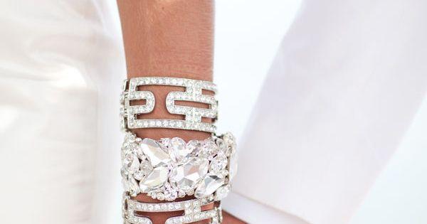 Gorgeous diamond cuff bracelets