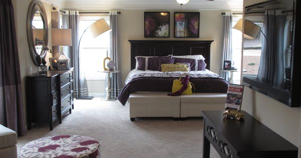 purple bedroom mediterranean matching - photo #17