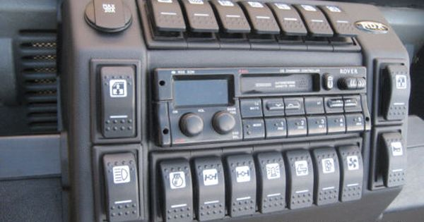 RDX Low Pod LandRover Defender 90//110 Switch Panel Centre Console Dashboard
