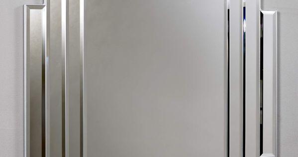 Art deco mirror for the guest bath interior exterior for Miroir art deco