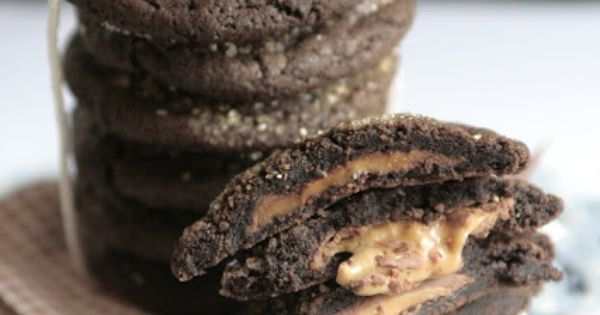 Indigo Scones: Chocolate Rolo Cookies (Chocolate Caramel Surprise ...