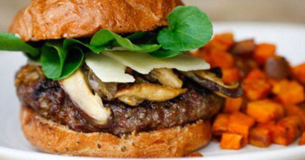 Grass Fed Bison Burger True Food Kitchen Food Bison Burgers