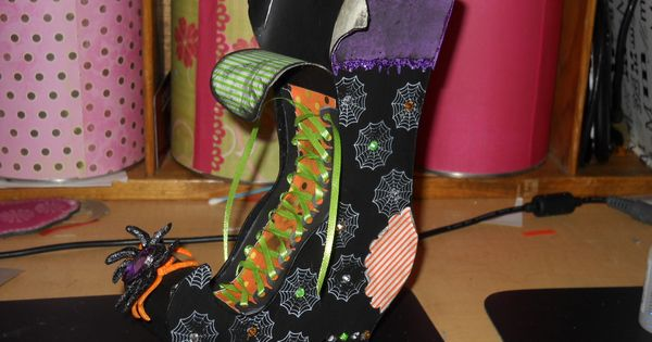 3d Witch Boot With File Cricut Svg S And Tutorials