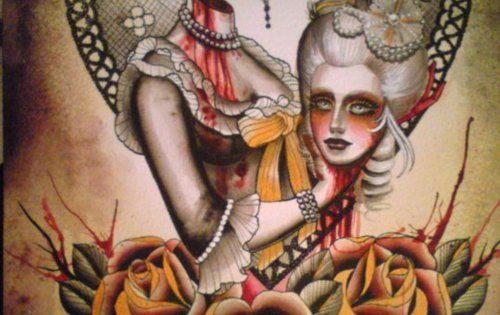 Lose your Antoinette Tattoo by Cristine Garcia at Primal Tattoo Gallery Inc.,