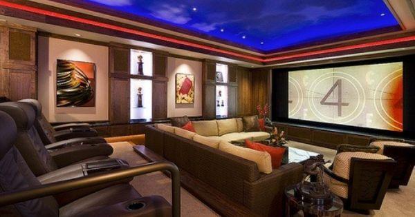 Home movie theater   bioscoop   Pinterest