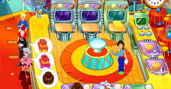 Play cake mania online games virtual cooking games for Fish mania help
