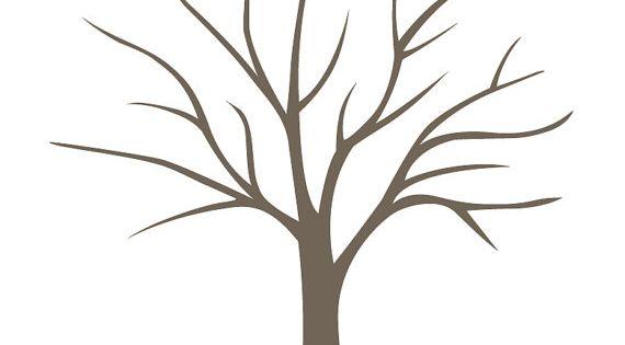 diy fingerabdruck baum poster sofort download klein von lovliday bastelideen pinterest. Black Bedroom Furniture Sets. Home Design Ideas