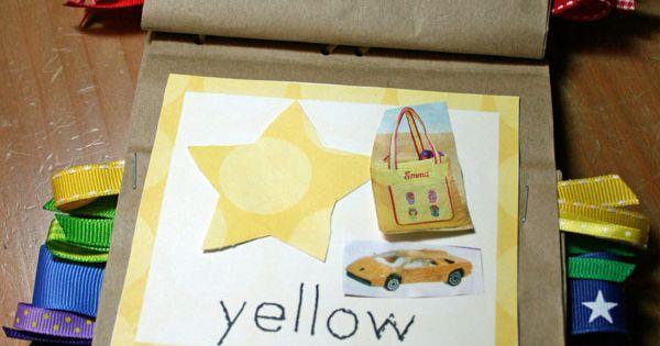 Free Printable Color Book {preschool craft} ~ This great FUNctional printable is