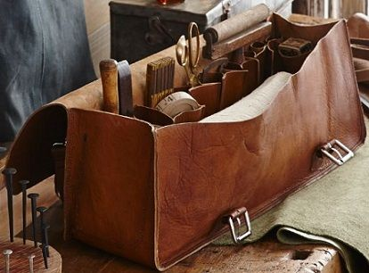Roost Leather Tool Bag And Backpack