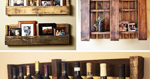 Wood pallet home ideas energ a sustentable pinterest for Casa garcia muebles
