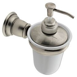 Kingsley Antique Nickel Wall Mounted Soap Dispenser Yb5466an