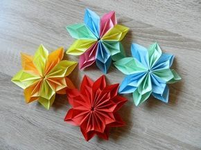 Origami Flower Dahlia Easy To Do And Rich Ideas For Christmas Decoration Youtube Origami Flowers Diy Origami Flowers Easy Origami Flower
