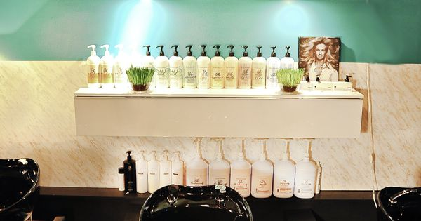 Elysium salon vintage glam shampoo room by jesse vickers for Jlv creative interior design