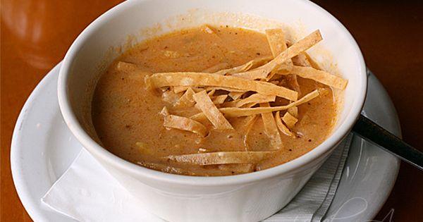 California Pizza Kitchen Sedona Tortilla Soup Recipe