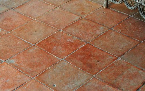 Carrelage terre cuite ancien sol pinterest carrelage for Carrelage sol ancien