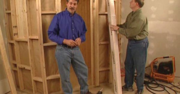 How to build a home sauna how to diy network for Home saunas since 1974
