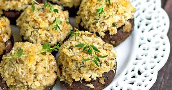 Classic Stuffed Mushrooms | Recipe | Stuffed Mushrooms, Mushrooms and ...