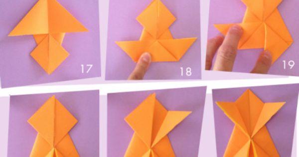 Origami grenouille sauteuse p dagogie pinterest origami et photos - Origami grenouille sauteuse pdf ...
