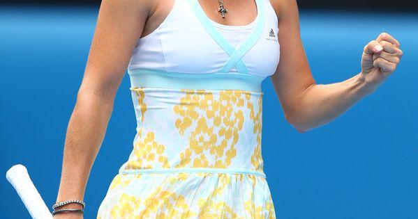 Caroline Wozniacki Photos 2014 Australian Open 19 Tenniskleid Tennisspieler Foto Sport