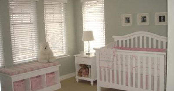 Stripes Polka Dots and Puppy Baby Bedding Nursery Theme in Pink