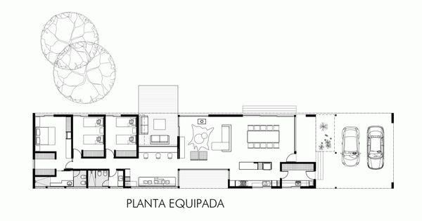 Gallery of linear house roberto benito 16 house for Linear organization in architecture