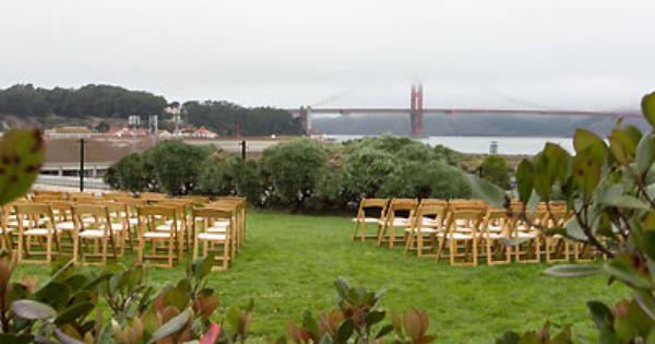 Presidio Observation Post San Francisco Weddings SF Bay Area