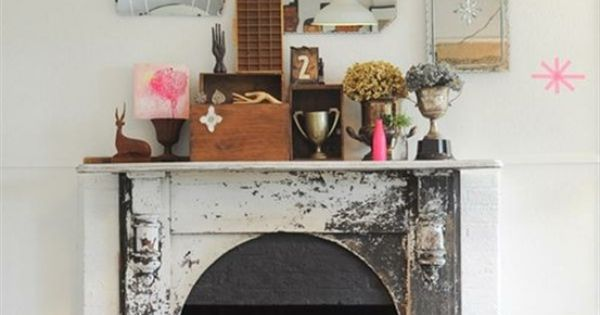 Vintage Fireplace  Space 3  Pinterest