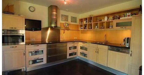 Keuken deze grote semi open keuken heeft een oppervlakte van ca 12 m het moderne keukenblok - Hoe dicht een open keuken ...